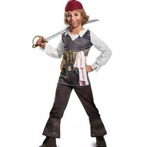 Captain Jack Sparrow Pirate Boys Halloween Costume
